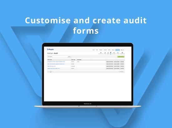 Audit forms
