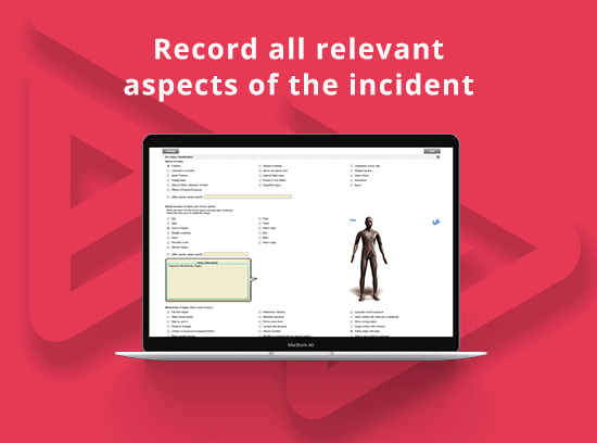 record incident details