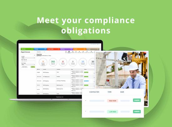 Permit compliance